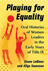 Professor's new book shares stories of early leaders in women's athletics